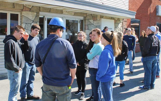 Students explore engineering at Madawaska paper mill - The