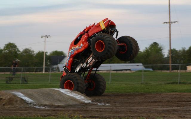 Monster trucks presque isle maine
