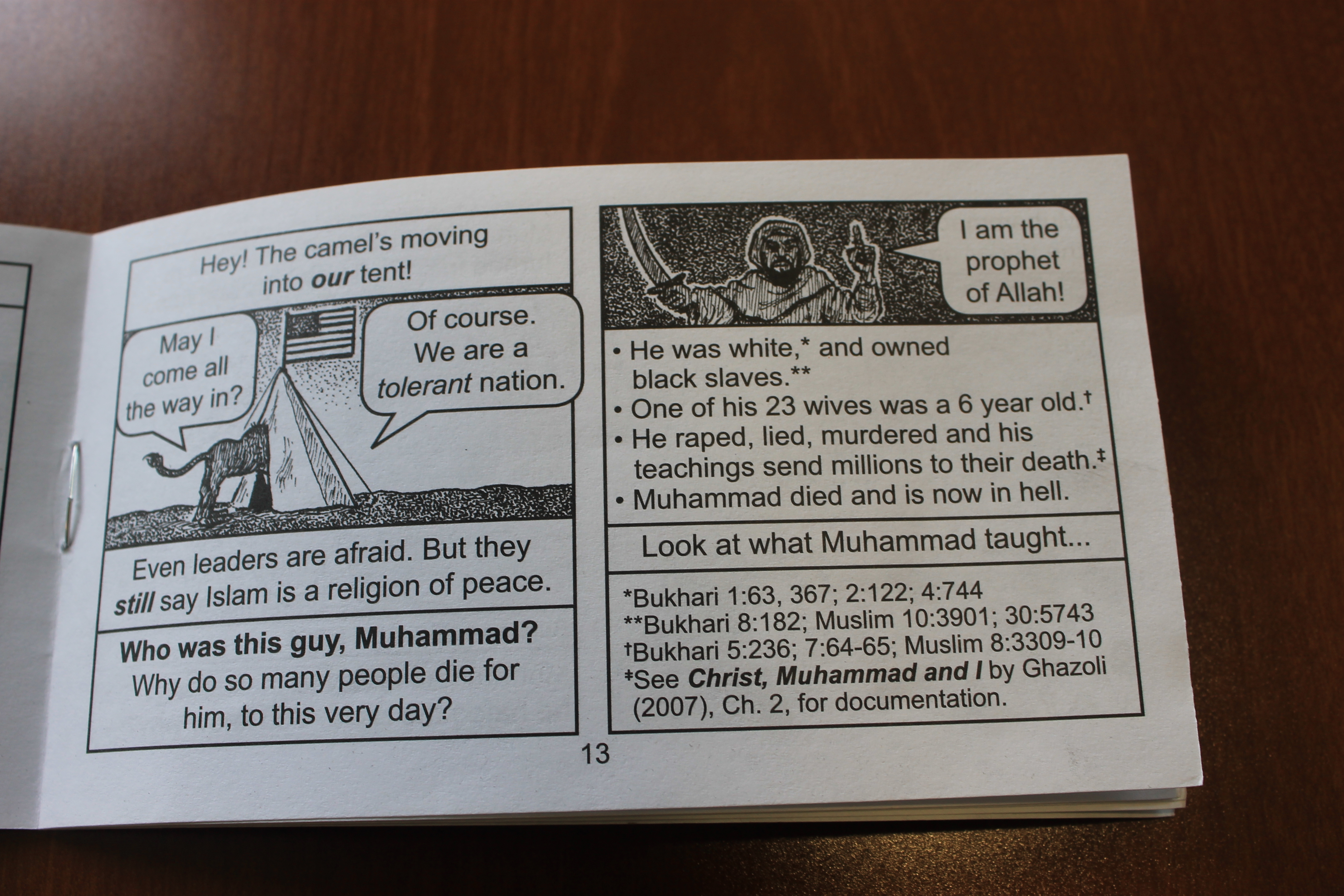 Anti-Islam leaflets left on cars in Presque Isle - The County