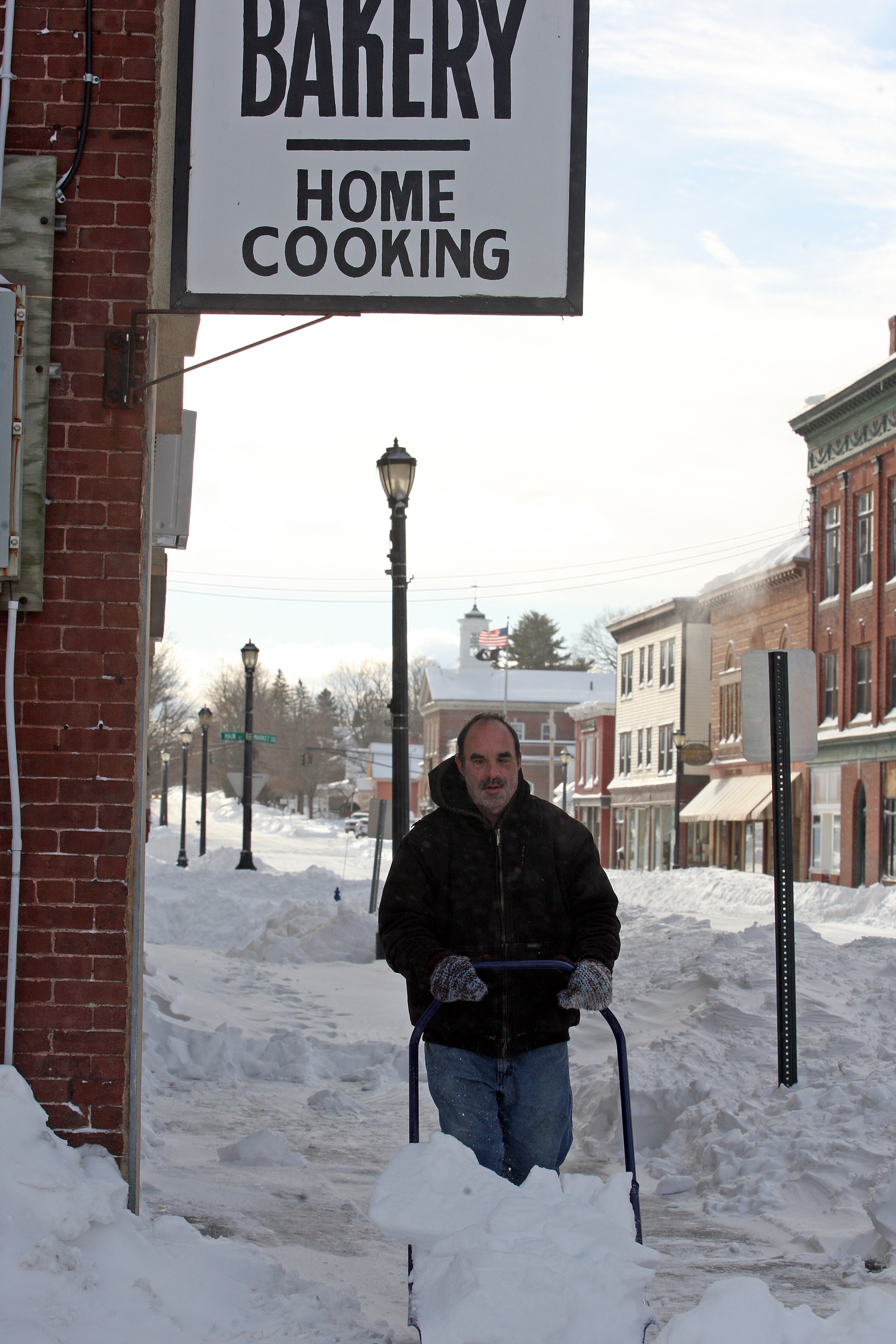 As folks dig out from well over foot of snow in County