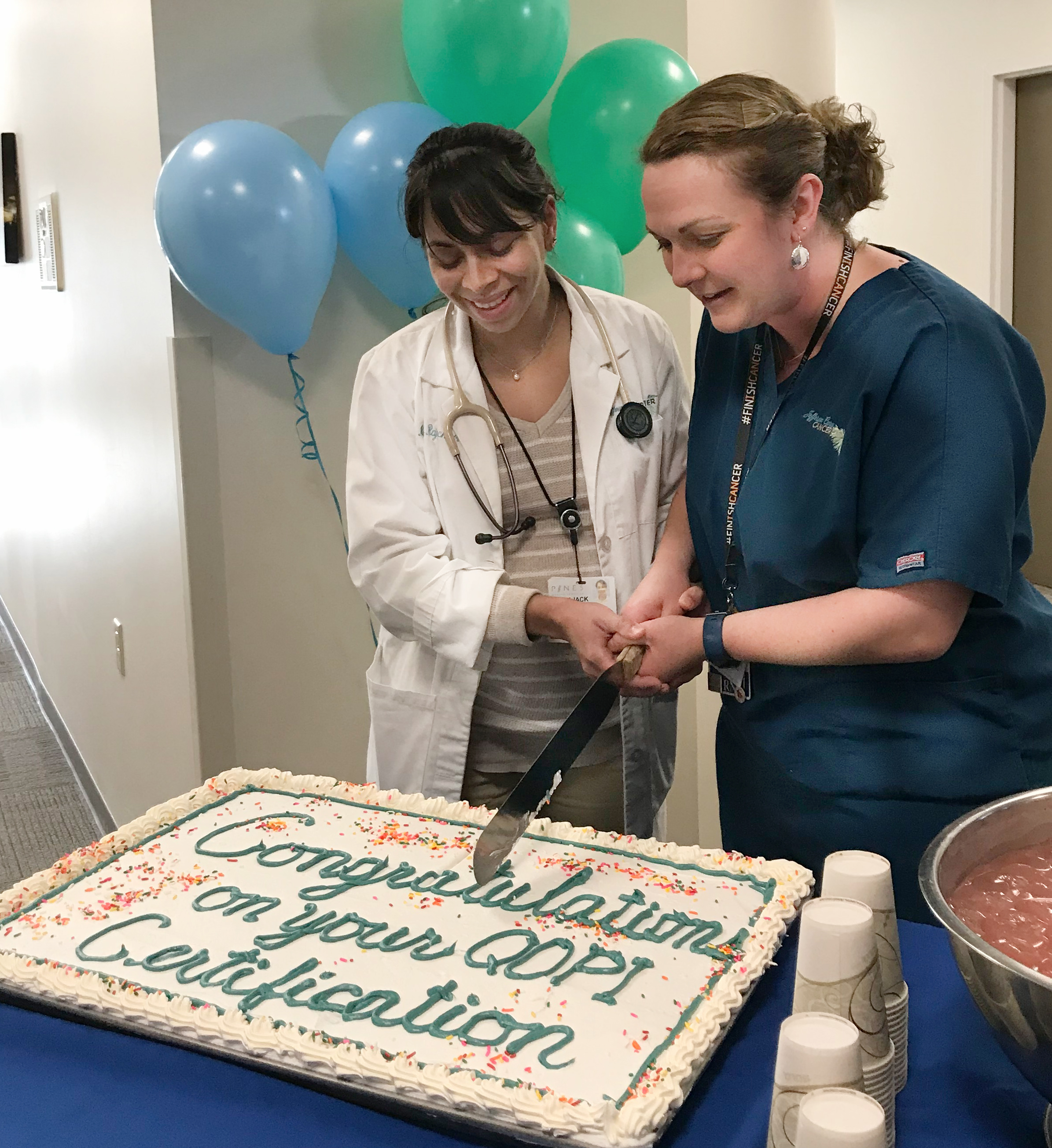 Cancer center earns national certification - The County